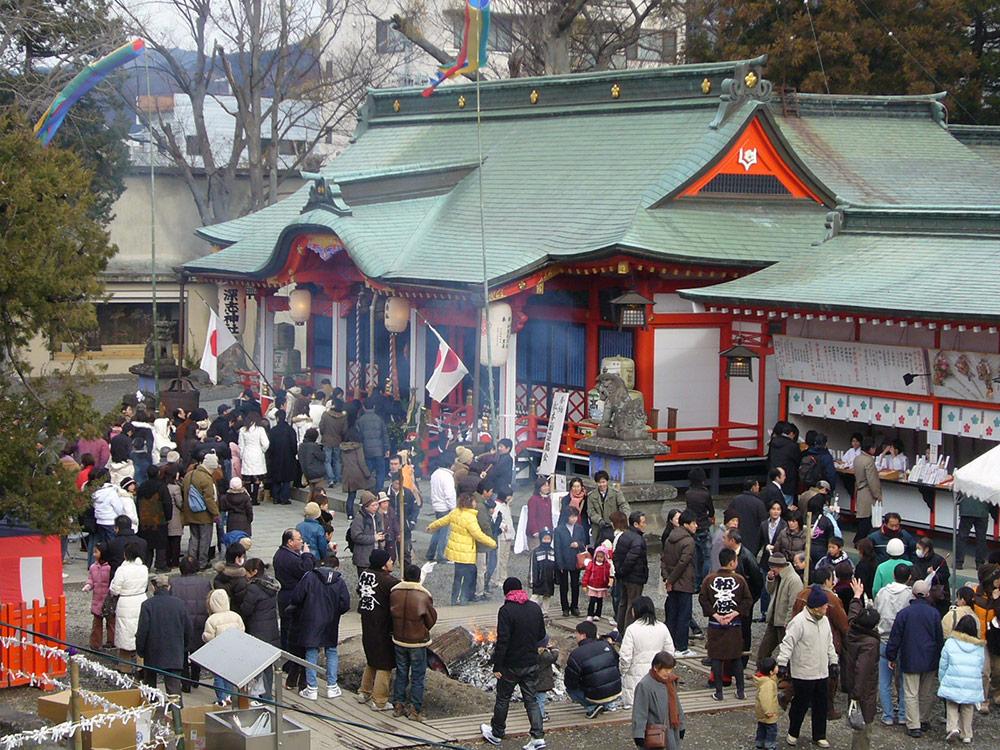 正月・歳旦祭 | 信州松本 天神 深志神社